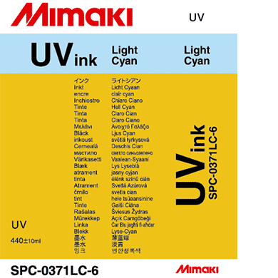 SPC-0371LC UV curable ink Light Cyan