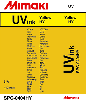 SPC-0404HY UV curable ink Yellow