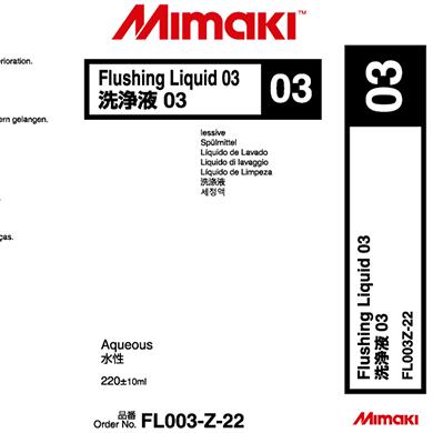 FL003-Z-22 Flushing Liquid 03 Cartridge
