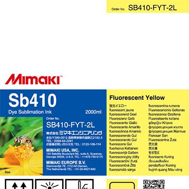 SB410-FYT-2L Sb410 Fluorescent Yellow T