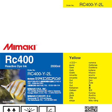 RC400-Y-2L Rc400 Yellow
