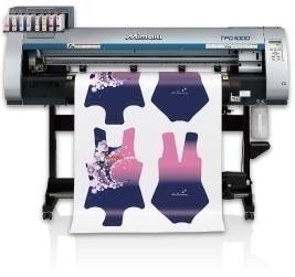 MIMAKI的升华转印打印机出现在Glitch@TOKYO解放区
