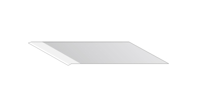 SPB-0043 High-speed steel blade 30°