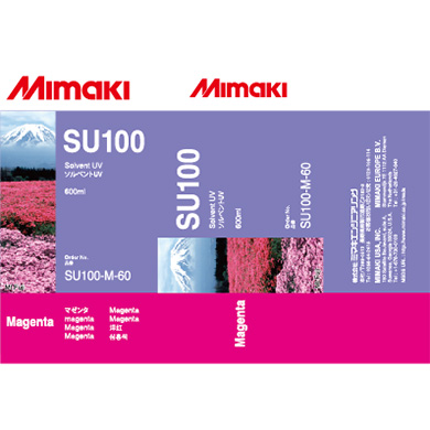 SU100-M-60 SU100 Solvent UV ink pack Magenta