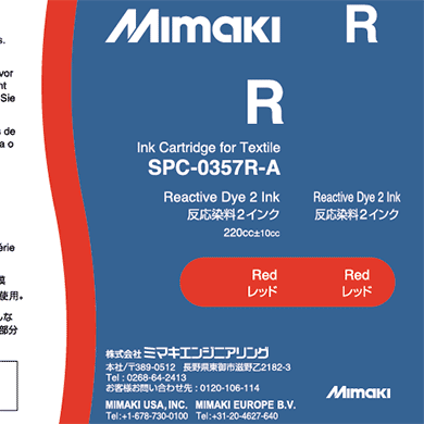 SPC-0357R Reactive dye ink Red