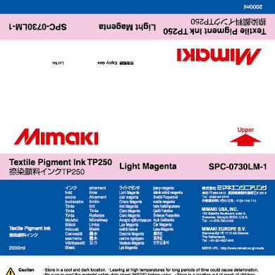 SPC-0730LM TP250 Light Magenta