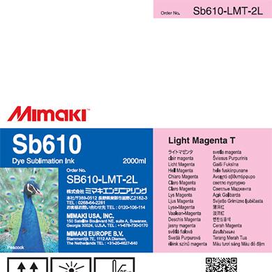 SB610-LMT-2L Sb610 Light Magenta T