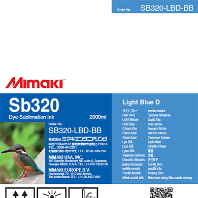 SB320-LBD-BB Sb320 Light Blue D