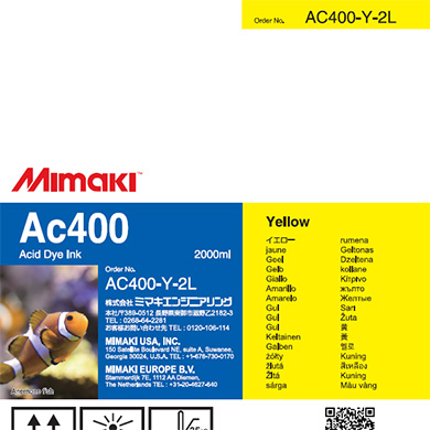 AC400-Y-2L Ac400 Yellow